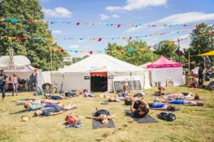 wellness at festivals